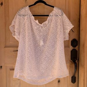 Ariat Lace Top or Swim Coverup